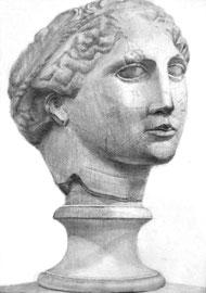 R.Yさん作 石膏像(ラボルト)デッサン