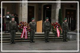 Totengedenken Militärkommando Sbg. - Allerseelen November 2012