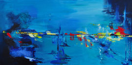 Blue spirit - 120x60 cm