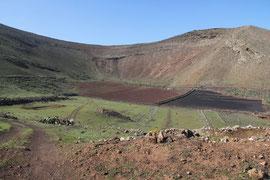 Caldera der Montana Tamia