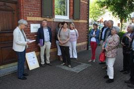 Ehepaar Katz, Josef Katz wurde erst in das KZ Breitenau (Guxhagen) und dann in das KZ Buchenwald gesperrt und dort ermordet