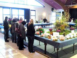 Exposition de 2010 salle des fêtes de Baule