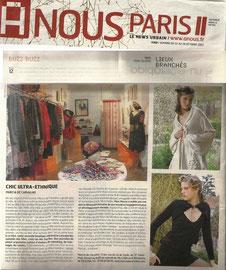 Journal A Nous Paris - France