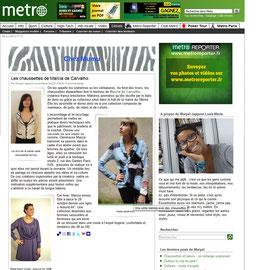 Blog Chez Mumu/Site Journal Métro - France