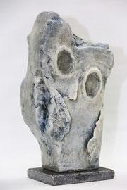 Stoned white owl
