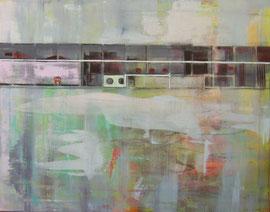 Vorsaison  /  Acryl auf Leinwand, 70 x 90 cm, 2015