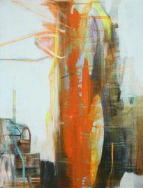Fusion  /  Acryl auf Leinwand, 80 x 60 cm, 2016