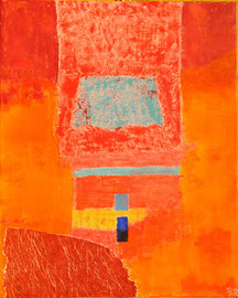 Sinfonía en naranja 33 x 41