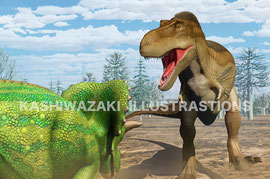 最強の恐竜ティラノサウルス