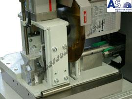Produktons-Rohrsäge mit Sonderspanneinrichtung und Materialvorschub