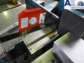 Messung aller Bandsägebänder, Bereich 0 bis 500 N/mm^2