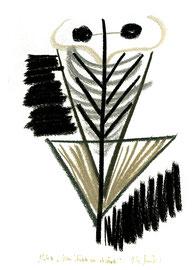 """""""Von Hüfte an abwärts"""" / Werkverzeichnis 1.224 / datiert 1997 / verschiedenfarbige Kohlen auf Papier / Maße jeweils b 24,0 cm * h 32,0 cm"""