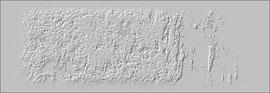 """""""Relief 1 / 2016"""" WVZ 4222 a / datiert 2016 / limitierter Fine-Art-Print 1 v. 5 nach Abruf auf Hahnemühle-Museum-Etching-350g-Papier (oder ähnlich) Maße b 76,5 cm * h 30,0 cm"""