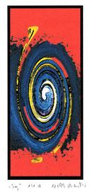 """""""Sog 1/1 B"""" Werkverzeichnis 2.440 / datiert 12/99 / Fotoveränderung als Tintenstrahldruck auf Papier / Maße b 21,0 cm * h 29,7 cm"""