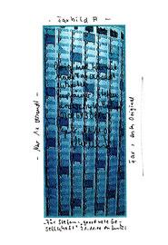 """""""Nur ein Originalfax 030/61308563 A"""" WVZ 3.298 / datiert Gestringen, 31.12.00 / Text und Zeichnung als Faxvorlage für Stephan Krawczyk zum Geburtstag auf Papier / Maße jeweils b 21,0 cm * h 29,7 cm"""