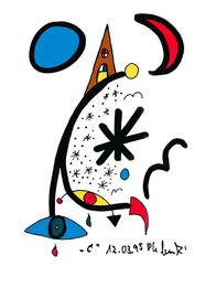 """""""C"""", Werkverzeichnis 476, 26.03.1995, farbige und schwarze Textilfarbenfilzstifte auf Papier, Größe b 10,6 cm * h 14,8 cm"""