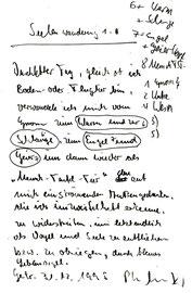 """Vorblatt zur Serie """"Seelenwanderung"""""""