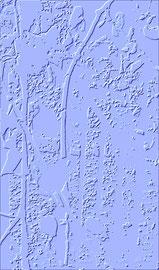 """""""Relief 4 / 2016"""" WVZ 4227 a / datiert 2016 Limitierter Fine-Art-Print 1 v. 5 nach Abruf auf Hahnemühle Museum-Etching-350g-Papier (oder ähnlich) / Maße b 40 cm * h 60,0 cm"""