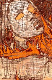 """""""Frau im Krieg"""" 1 WVZ 4.264 a / datiert 2018 Limitierter Fine-Art-Print 1 v. 5 nach Abruf auf Hahnemühle Museum-Etching-350g-Papier (oder ähnlich) Maße b 80,0 cm * h 100,0 cm"""