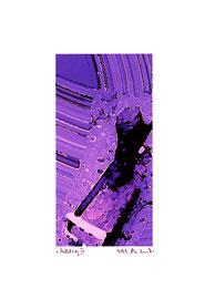 """""""Mittelsog III"""" / Werkverzeichnis 2.273 / datiert 9/99 / Fotoveränderung als Tintenstrahldruck auf Papier / Maße b 21,0 cm * h 29,7 cm"""