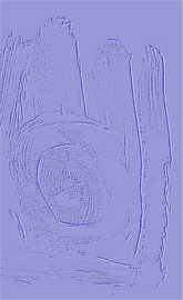"""""""Relief 12 / 2016"""" WVZ 4229 a / datiert 2016 Limitierter Fine-Art-Print 1 v. 5 nach Abruf auf Hahnemühle Museum-Etching-350g-Papier (oder ähnlich) Maße b 55,0 cm * h 70,0 cm"""