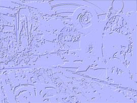 """""""Relief 5 / 2016"""" WVZ 4228 a / datiert 2016 / limitierter Fine-Art-Print 1 v. 5 nach Abruf auf Hahnemühle-Museum-Etching-350g-Papier (oder ähnlich) Maße b 55,0 cm * h 70,0 cm"""