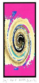 """""""Sog 1/1 C"""" Werkverzeichnis 2.441 / datiert 12/99 / Fotoveränderung als Tintenstrahldruck auf Papier / Maße b 21,0 cm * h 29,7 cm"""