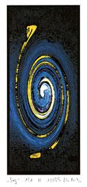 """""""Sog 1/1 A"""" Werkverzeichnis 2.439 / datiert 12/99 / Fotoveränderung als Tintenstrahldruck auf Papier / Maße b 21,0 cm * h 29,7 cm"""