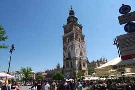 La tour de l'ancien Hôtel de ville.