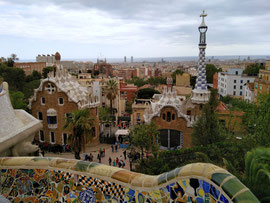Park Güell (von Antoni Gaudí), Barcelona