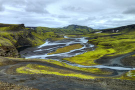 Bei Landmannalaugar, Island