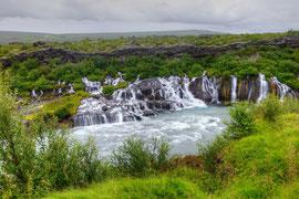 Hraunfossar, Island