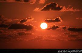 SUNRISE AUF PADRE ISLAND