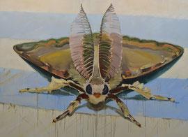 Vernetzung, Öl und Eitempera auf Baumwolle, 200 x 280 cm
