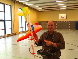 Norbert Becke so sehen Modele aus wenn wir damit geflogen sind :-)