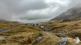 Passo Spluga versante italiano - Lago Montespluga
