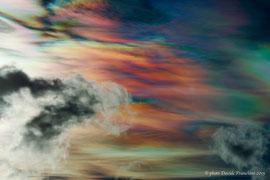 Questi sono i colori dell'alba vista a Montespluga