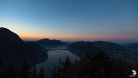 La prima alba del 2017 - Monte Brè