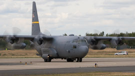 USAF Wyoming ANG C-130H Hercules 92-1531
