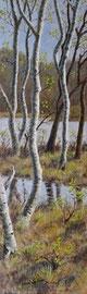 º Berken, tegen het voorjaar, 3, a/p, 45x150cm