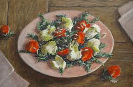 Salade, a/p, 61x40cm