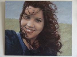 Aicha, 'selfie', o/a/p, 74x61cm