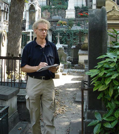 Abel in Parijs, cimétiere Montmartre