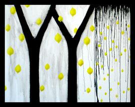 """YY, 24""""x32"""" / 丫丫, 61 x 82cm,  2009"""
