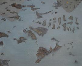 """Field 01, 24""""x 30""""  / 田01, 61 x 76cm, 2012"""