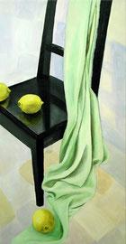 """Silk Green, 12""""x24"""" / 绿丝, 31x61cm,  2009"""