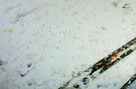 "Snow I, 24""x36"" / 雪,61cm x91.5cm, 2012"