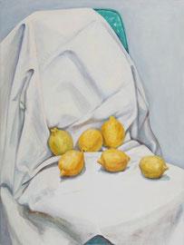 """Xmas Lemon, 18""""x24"""" / 圣诞拧檬, 46x61cm,  2008"""