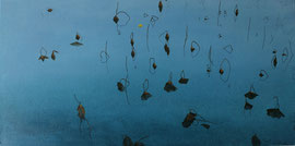 "January at West Lake 03, 18"" x 36"" / 一月的西湖 03 , 46 x 92cm , 2011"