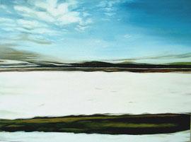 "Winter, 30""x 40"" / 冬天 76cm x 102cm, 2007"